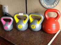 Kettle weights,
