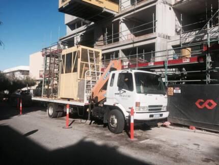 Truck Crane Hiab for hire