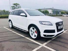 Audi Q7 S-Line 2012 White