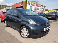 **12 MONTHS WARRANTY** TOYOTA AYGO PLUS 1.0 VVT-i (2009) - 5 DOOR - NEW MOT - 2 KEYS - HPI CLEAR!