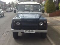 Land Rover 110 Defender 1987 59,000 geniuine miles 2.5 petrol gas conversion 1 previous owner