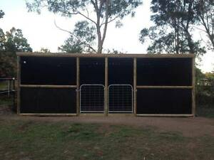 Two Australian Made Horse Stables - dismantle, ready to assemble South Ripley Ipswich City Preview