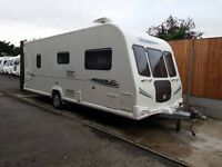Bailey Pegasus 524 4 Berth caravan FIXED DOUBLE BED, AWNING, MOTOR MOVER BARGAIN