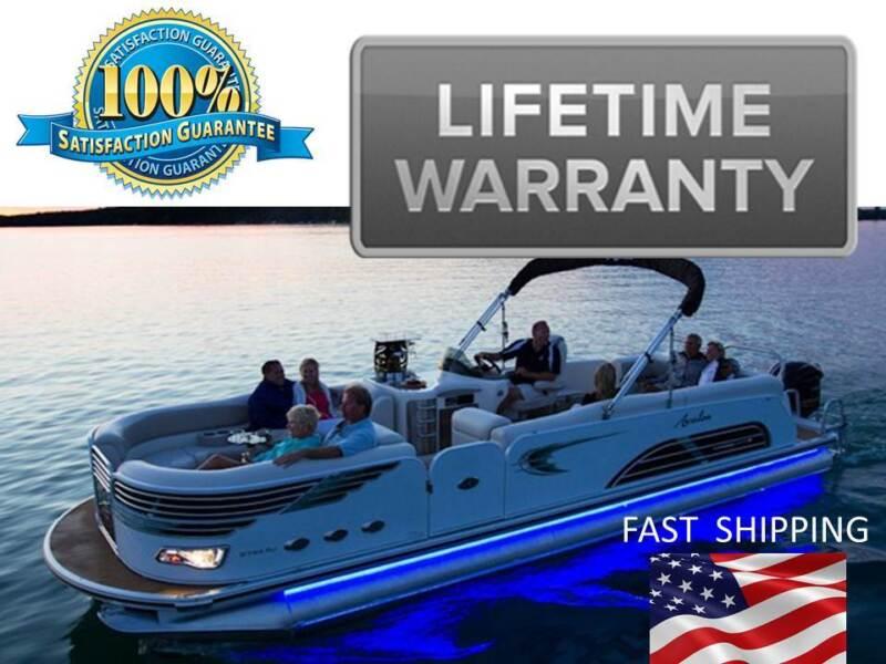 Pontoon Boat GREEN --- LED Lighting KIT -- UNIVERSAL Fit - Any Boat or Marine