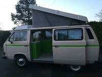 1986 VW T25 T3 Camper pop top