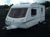 2004 abbey vogue GTS 215/2 berth end changing room with fitted mover