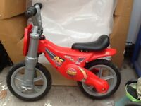Disney Cars balance bike