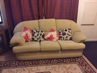 3 Seater Settee, and 2x Chairs