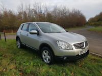 Nissan QASHQAI ACENTA 1.5 dci full service history long mot excellent condition throughout warranty