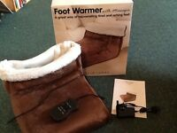 Foot Warmer with massager