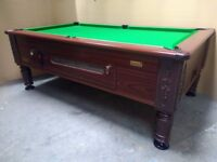 Superleague Imperial 7x4 Slate Bed Pub Pool Table - New Recover - Includes Local Delivery