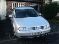 GOLF GTI 1.8 10 months MOT clean and tidy ready to drive away SILVER 4 door