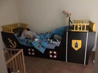 Kids 3ft pirate bed