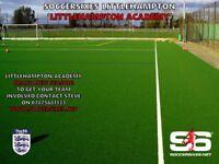 Littlehampton Soccersixes - Teams Needed
