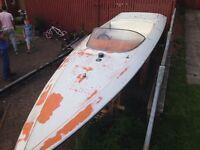 22ft donzi classic speed boat