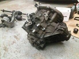 Mini One Gearbox Getrag 5 speed mini drive shafts starter