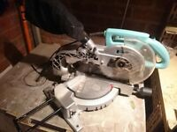 Compound circular saw