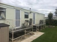 3 bedroomed Caravan for hire in Towyn North Wales