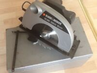 Black and Decker Circular Saw 1200w 65mm depth of cut