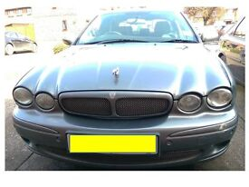 2006 JAGUAR X-TYPE 2.2D - Grey with Black Leather Interior & Climate Control