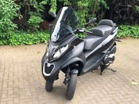 Piaggio MP3 500 Sport Brand New Condition 2850 miles (Motorcycle, Moped, Scooter)