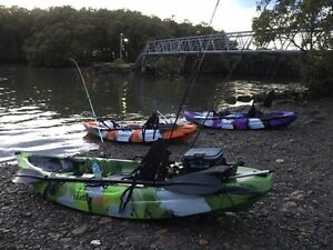 Dragon Profisher Kayak Beachmere Caboolture Area Preview