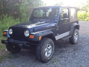 2002 Jeep TJ Sport - low mileage