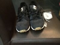 Black Adidas Torsion trainers for sale