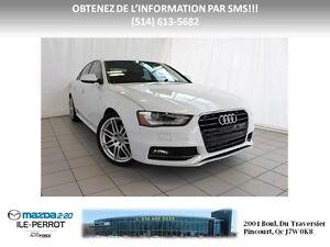 2013 Audi A4 S-LINE QUATTRO GPS CUIR TOIT West Island Greater Montréal image 1