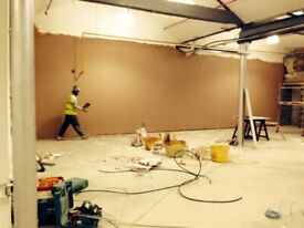 Plasterers available for work from beginning of April