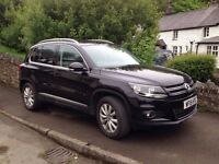 2015 VW TIGUAN MATCH 2.0 TDI. (4wd) BMT 177ps 4 MOTION 6 - SPEED MANUAL. 13,677 miles.