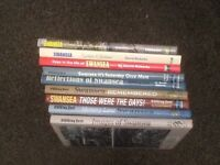 9 x Swansea Books By David Roberts Evening Post Hardbacks.