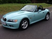 BMW Z3 Roadster (turquoise) 1997