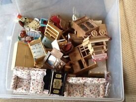 Sylvanian Families, 2 Houses and Accessories