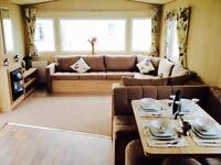 Brand new static caravan for sale isle of wight, 12 month seafront park, 2017 site fees included