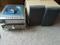 Hitachi Am_m131u - DAB Radio / CD Player /Clock /Stereo