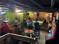 Pool hall/ late night bar