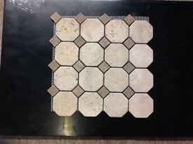Mosaic Ceramic Wall Tiles | 13 x Boxes | Brand New