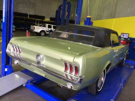 1967 Ford Mustang convertible Airport West Moonee Valley Preview