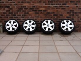 Tyres and wheels WSP Alloys (Italy) with Michelin Pilot Sport 3 Tyres