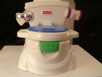 FIsher Price interactive training toilet,immaculate condition