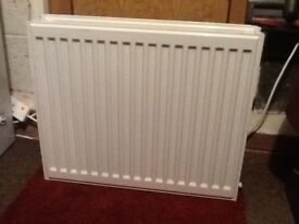 2 x Double panel double convector radiator