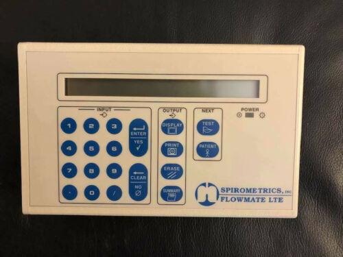Spirometrics Flowmate LTE Spirometer 2500LTE New Older Unit