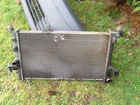 Vauxhall combo radiator