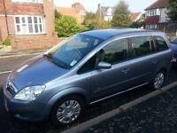 2008 Vauxhall Zafira 1.8 petrol auto, 7 Seater ,2 OWNERS,full service history,10 months MOT