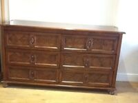 Beautiful 6 drawer Dressing table