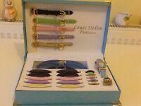 Rare Louis Delon interchangeable watch & sunglasses collection
