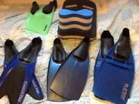 Flippers, float and pull buoy for sale