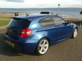 BMW 1 Series - 3 door M Sport - MOT Aug 18