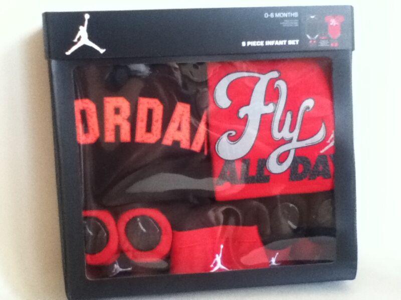 Nike Jordan 5 Stück Baby Kleinkind Baby Geschenk Set IBSP8015
